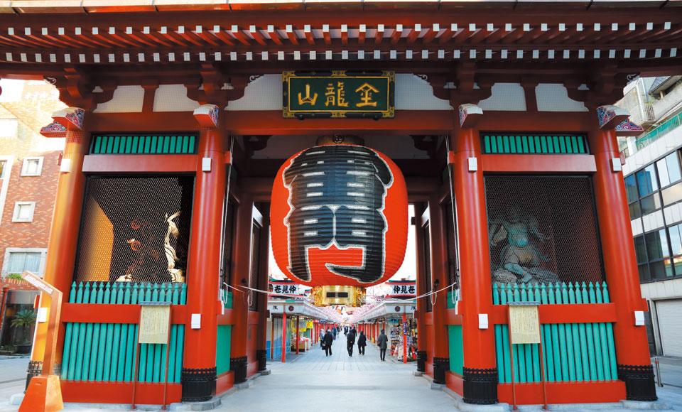 Asakusa Kaminari-Mon gate