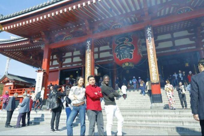 Tour to Asakusa Sensoji Temple